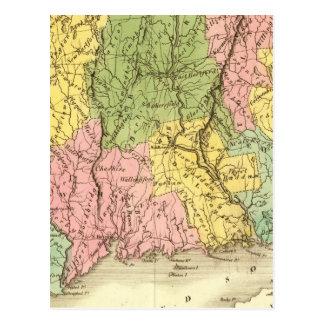 Carte Postale Le Connecticut USA