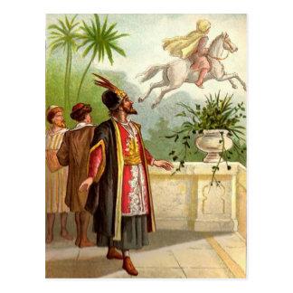 Carte Postale Le conte du Scheherazade enchanté de cheval