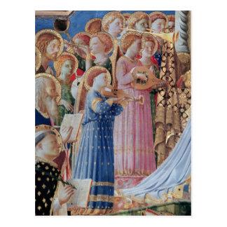 Carte Postale Le couronnement de la vierge
