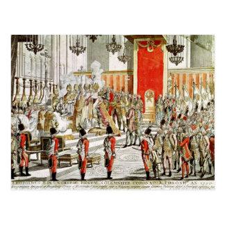 Carte Postale Le couronnement de Leopold II à Bratislava