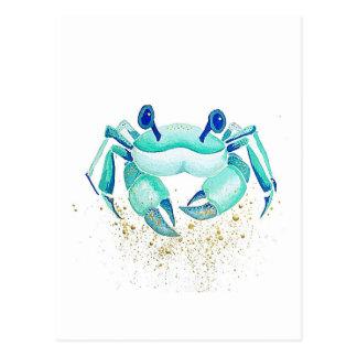 Carte Postale Le crabe de Neptune