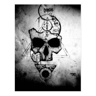 Carte Postale Le crâne de Hyman