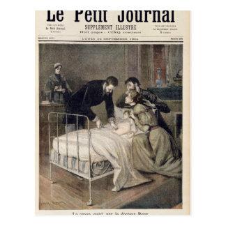 Carte Postale Le croup traité par docteur Roux
