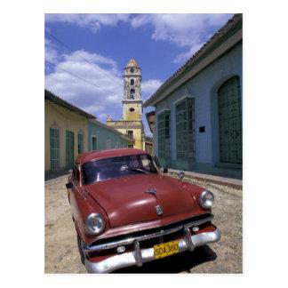 Carte Postale Le Cuba, vieux village colonial du Trinidad