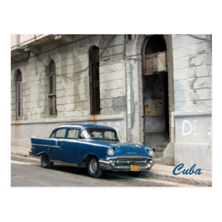 Carte Postale le Cuba vintage