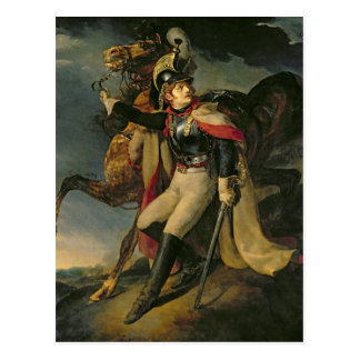 Carte Postale Le Cuirassier blessé, 1814