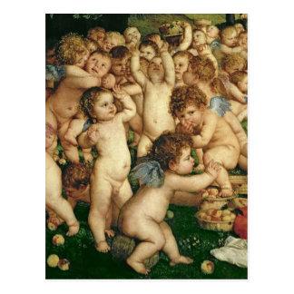 Carte Postale Le culte de Vénus, 1519