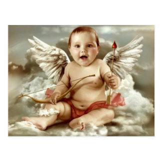 Carte Postale le cupidon bébé
