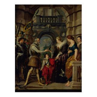 Carte Postale Le cycle 2 de Medici