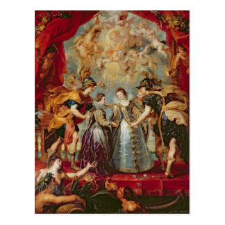 Carte Postale Le cycle de Medici