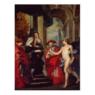 Carte Postale Le cycle de Medici : Le Traité d'Angoulême