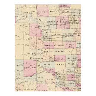Carte Postale Le Dakota