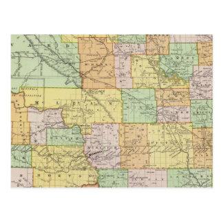 Carte Postale Le Dakota du Nord