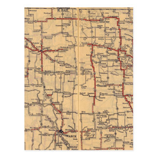 Carte Postale Le Dakota du Nord 2