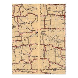 Carte Postale Le Dakota du Sud
