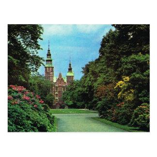 Carte Postale Le Danemark vintage, Copenhague, château de