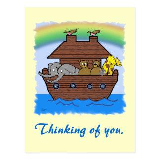 Carte Postale Le _d'arc de Noahs pensant à vous cardent