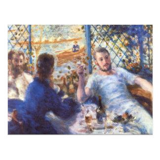 Carte Postale Le déjeuner de rameurs par Pierre Renoir