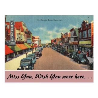 Carte Postale Le Delaware, rue de Loockerman