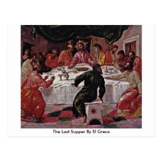 Carte Postale Le dernier dîner par El Greco