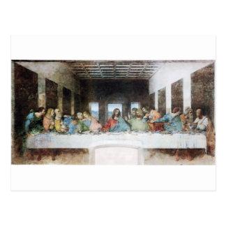 Carte Postale Le dernier dîner par Leonardo da Vinci