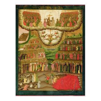 Carte Postale Le dernier jugement, 1721