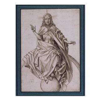 Carte Postale Le dernier jugement (détail) par Hieronymus Bosch
