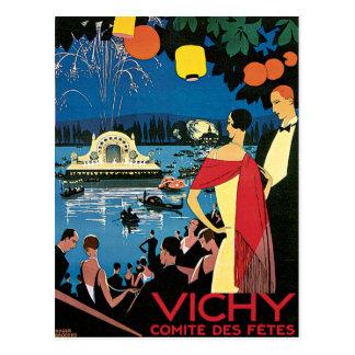 Carte Postale Le DES de Vichy France Comite fait la fête la