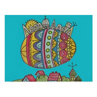 Carte Postale Le destin de l'art populaire d'Ukrainien du monde