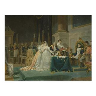 Carte Postale Le divorce de l'impératrice Josephine (1763-1814)