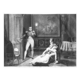 Carte Postale Le divorce du napoléon I