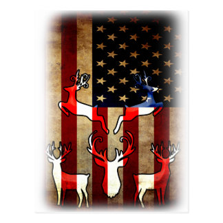 Carte Postale Le dos de conscience de chasse, Etats-Unis