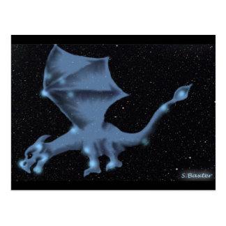 Carte Postale Le dragon dans la constellation de Draco