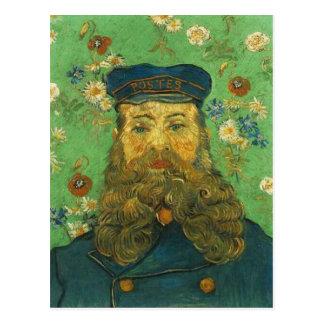 Carte Postale Le facteur de Van Gogh