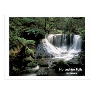 Carte Postale Le fer à cheval tombe la Tasmanie