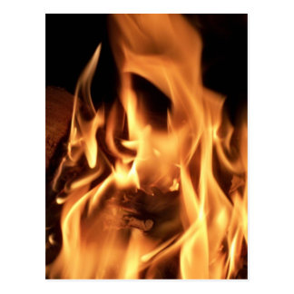 Carte Postale Le feu