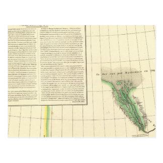 Carte Postale Le fleuve Mackenzie, le Yukon