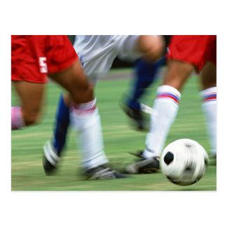 Carte Postale Le football