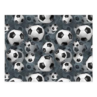 Carte Postale Le football Ballz !