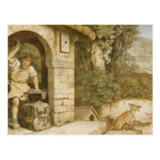Carte Postale Le forgeron de Ruhla, c.1854-55
