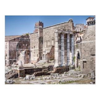 Carte Postale Le forum d'Augustus est l'un des 3 impériaux