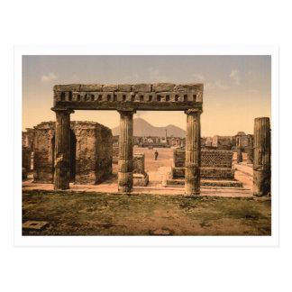 Carte Postale Le forum, Pompeii, Campanie, Italie