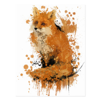 Carte Postale Le Fox de bout