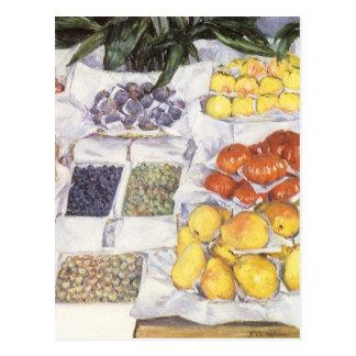 Carte Postale Le fruit se tiennent prêt Gustave Caillebotte, art