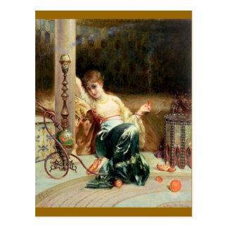 Carte Postale Le fumeur de hachish - Emile Bernard