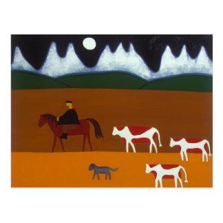 Carte Postale Le gaucho et ses bétail 2006