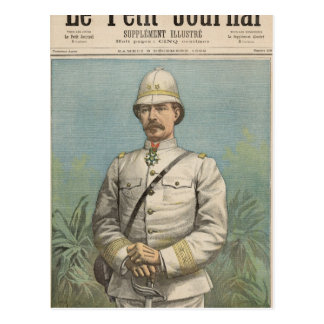 Carte Postale Le Général Alfred Amedee Dodds au Dahomey