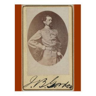 Carte Postale Le Général confédéré John B. Gordon de guerre