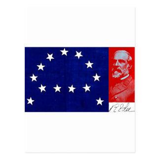 Carte Postale Le Général confédéré Robert E. Lee