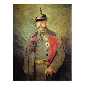 Carte Postale Le Général Paul von Hindenburg, c.1916